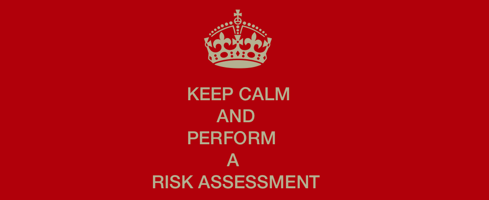 performing a risk assessment