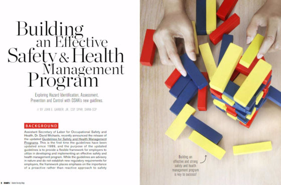 Building and Effective Safety and Health Management Program