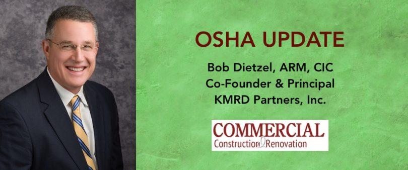 Bob Dietzel OSHA Update