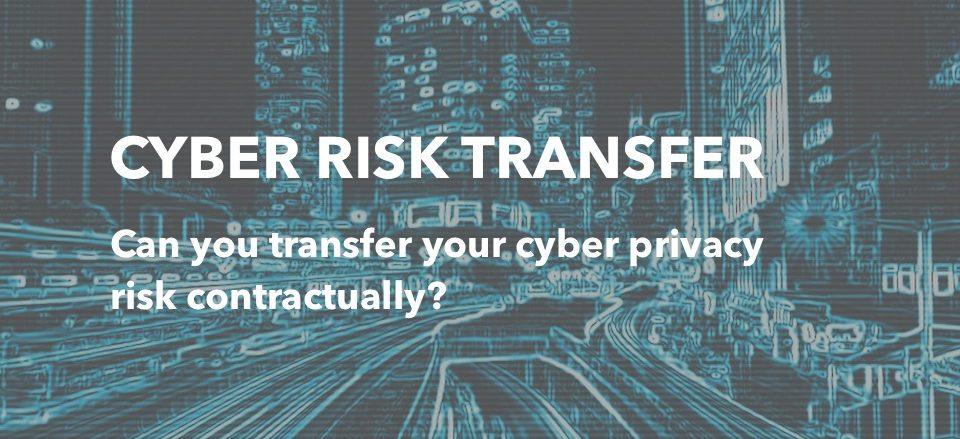 cyber risk transfer