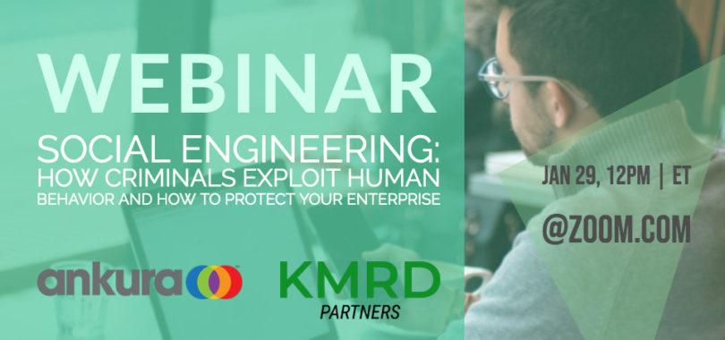 Social Engineering Webinar KMRD 2